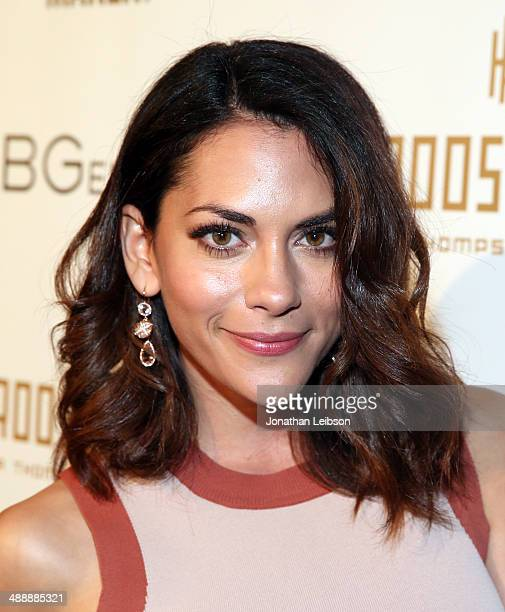 Actress Inbar Lavi attends the Nylon BCBGeneration May Young Hollywood Party at Hollywood Roosevelt Hotel on May 8 2014 in Hollywood California