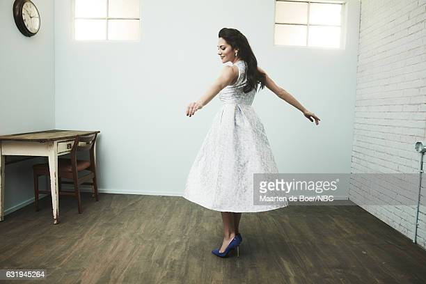 Actress Inbar Lavi of 'Imposters' poses for a portrait in the NBCUniversal Press Tour portrait studio at The Langham Huntington Pasadena on January...