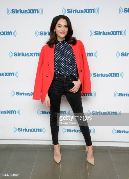 Actress Inbar Lavi visits the SiriusXM Studios on April 11 2018 in New York City