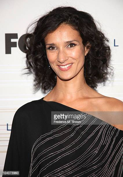 Actress Indira Varma attends Fox's Fall EcoCasino party at Boa on September 13 2010 in West Hollywood California