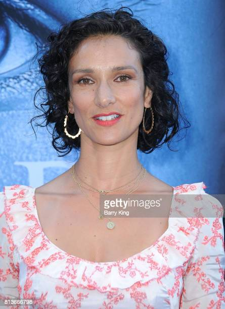 Actress Indira Varma attends the Premiere of HBO's 'Game Of Thrones' Season 7 at Walt Disney Concert Hall on July 12 2017 in Los Angeles California
