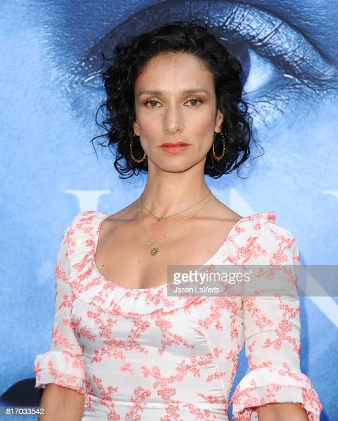 Actress Indira Varma attends the season 7 premiere of 'Game Of Thrones' at Walt Disney Concert Hall on July 12 2017 in Los Angeles California