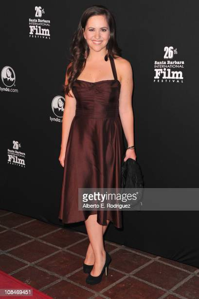 Actress Inge Rademeyer arrives to the 26th Annual Santa Barbara Film International Film Festival's opening night gala on January 27 2011 in Santa...