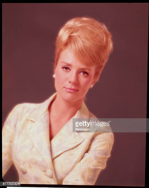 Actress Inger Stevens in a studio portrait She was ostracized in Hollywood in the mid60's when it was revealed that her husband was black She...