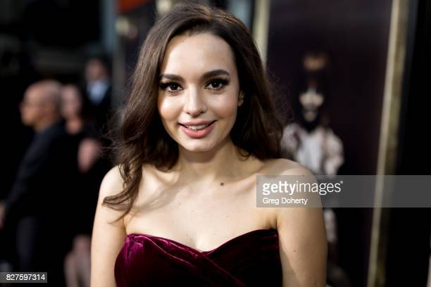 Actress Ingrid Bisu arrives for the Premiere Of New Line Cinema's Annabelle Creation at the TCL Chinese Theatre on August 7 2017 in Hollywood...