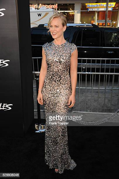 """Actress Ingrid Bolse Berdal arrives at the premiere of """"Hercules"""" held at TCL Chinese Theater in Hollywood."""