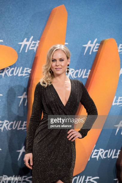 Actress Ingrid Bolso Berdal arrives to the European Premiere of the movie Hercules at Cinestar in Berlin Germany 21 August 2014 The movie comes to...