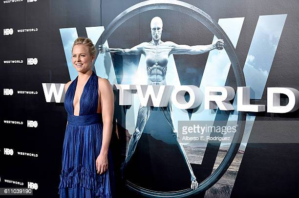 Actress Ingrid Bolso Berdal attends the premiere of HBO's Westworld at TCL Chinese Theatre on September 28 2016 in Hollywood California