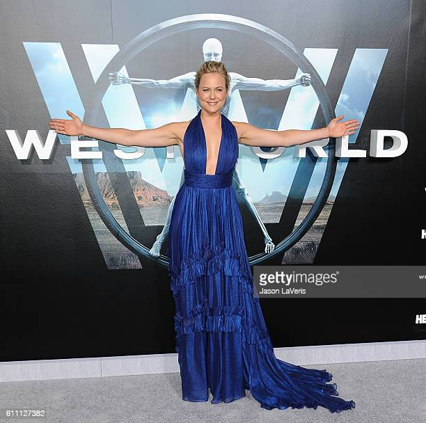 Actress Ingrid Bolso Berdal attends the premiere of 'Westworld' at TCL Chinese Theatre on September 28 2016 in Hollywood California
