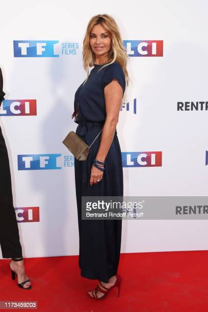 Actress Ingrid Chauvin attends the Groupe TF1 Photocall at Palais de Tokyo on September 09 2019 in Paris France