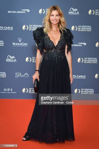 Actress Ingrid Chauvin attends the opening ceremony of the 59th Monte Carlo TV Festival on June 14 2019 in MonteCarlo Monaco