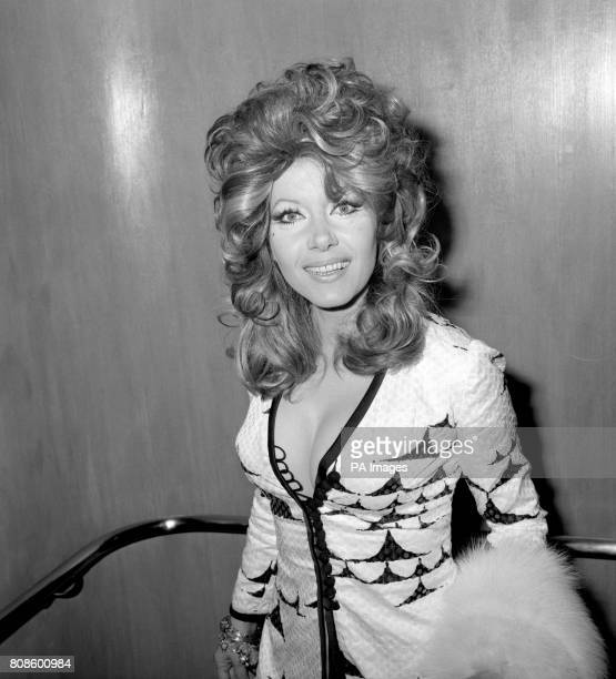 Actress Ingrid Pitt at the premiere of The Private Life of Sherlock Holmes
