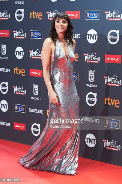 Actress Ingrid Rubio attends the Platino Awards 2017 photocall at the La Caja Magica on July 22 2017 in Madrid Spain