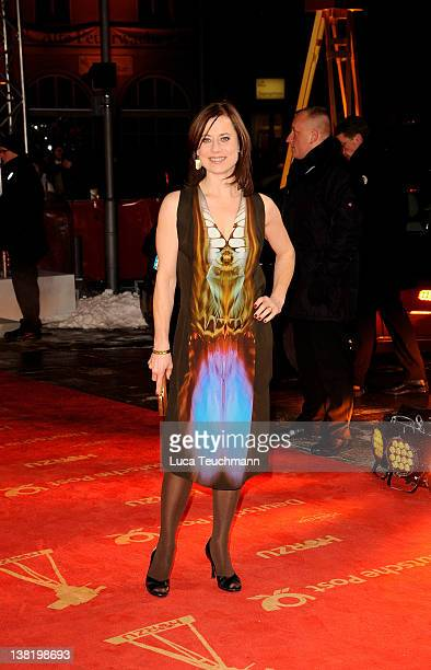 Actress Inka Friedrich attends the 47th Golden Camera Awards at the Axel Springer Haus on February 4 2012 in Berlin Germany