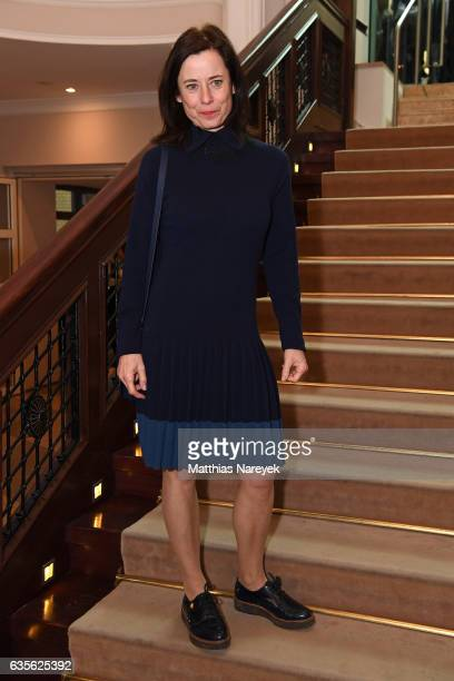 Actress Inka Friedrich attends the FFF Reception 2017 during the 67th Berlinale International Film Festival on February 16 2017 in Berlin Germany