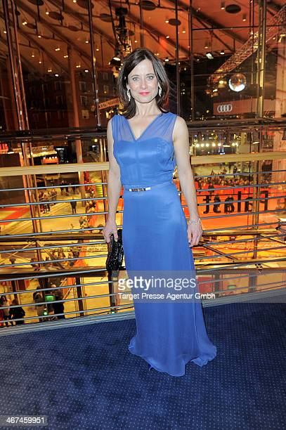 Actress Inka friedrich attends the Opening Party of the 64th Berlinale International Film Festival on February 6, 2014 in Berlin, Germany.