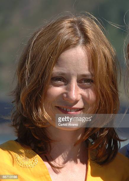 """Actress Inka Friedrich attends the photocall for """"Summer in Berlin"""" on the fourth day of the 53rd San Sebastian International Film Festival on..."""