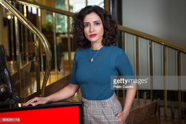 Actress Inma Cuesta attends the 'Arde Madrid' photocall at Intercontinental Hotel on March 2 2018 in Madrid Spain