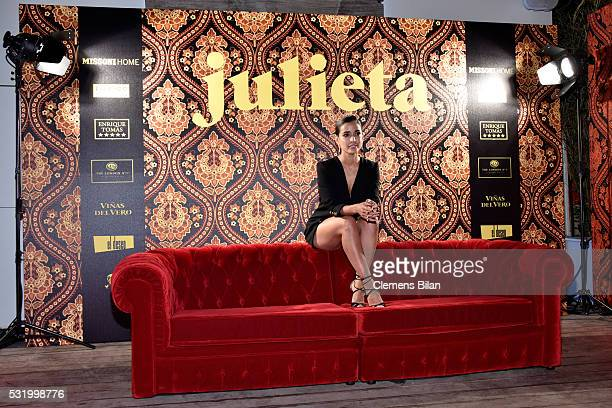 Actress Inma Cuesta attends the Julieta After Party during the 69th annual Cannes Film Festival on May 17 2016 in Cannes France