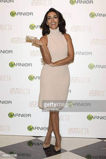 Actress Inma Cuesta presents 'BB Cream' By Garnier at the Hotel Unico Madrid on September 22 2015 in Madrid Spain