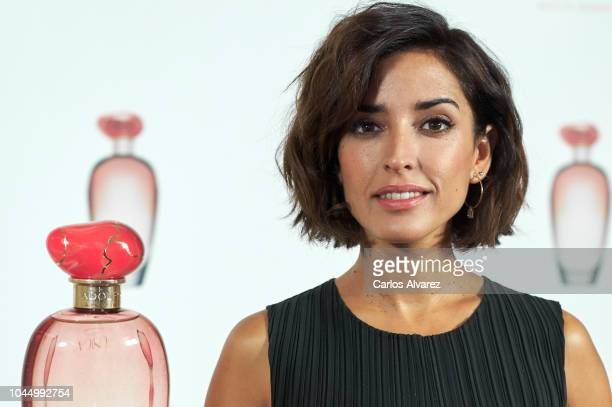 Actress Inma Cuesta presents 'Unica Coral' fragrance by Adolfo Dominguez on October 3 2018 in Madrid Spain
