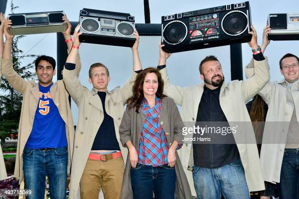 Actress Ione Skye attends the 25th Anniversary Screening of 'Say Anything' at Exposition Park on May 24 2014 in Los Angeles California