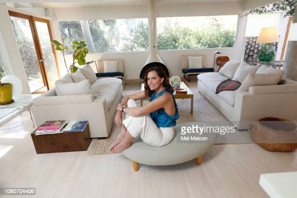 Actress Ione Skye is photographed for Los Angeles Times on September 28 2018 in her living room in Los Angeles California PUBLISHED IMAGE CREDIT MUST...