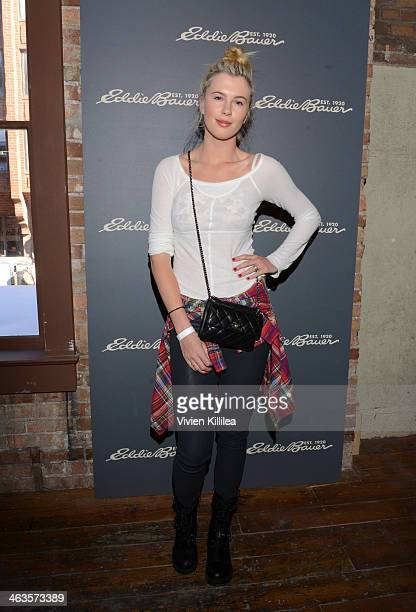 Actress Ireland Baldwin attends The Eddie Bauer Adventure House Day 2 2014 Park City on January 18 2014 in Park City Utah