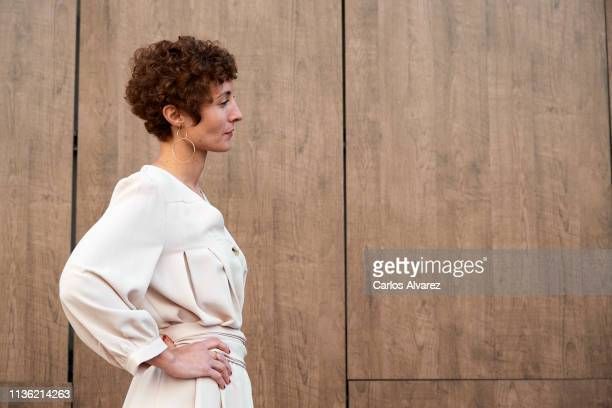 Actress Irene Anula attends 'Asamblea' photocall during the 22th Malaga Film Festival on March 16 2019 in Malaga Spain
