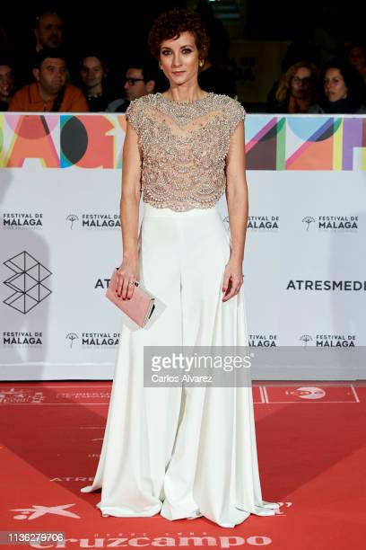 Actress Irene Anula attends 'Esto no es Berlin' premiere during the 22th Malaga Film Festival on March 16 2019 in Malaga Spain