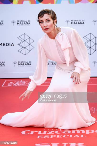 Actress Irene Anula attends Opening Day Red Carpet Malaga Film Festival 2019 on March 15 2019 in Malaga Spain