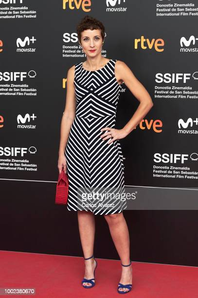 Actress Irene Anula attends the 66th edition of San Sebastian International Film Festival presentation at Academia de Cine on July 20 2018 in Madrid...