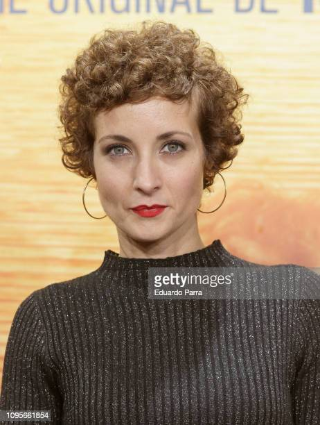 Actress Irene Anula attends the 'El Embarcadero' premiere at Callao cinema on January 17 2019 in Madrid Spain