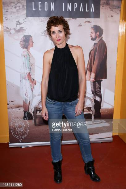 Actress Irene Anula attends the Leon Impala's Concert at Sala Sol on March 06 2019 in Madrid Spain