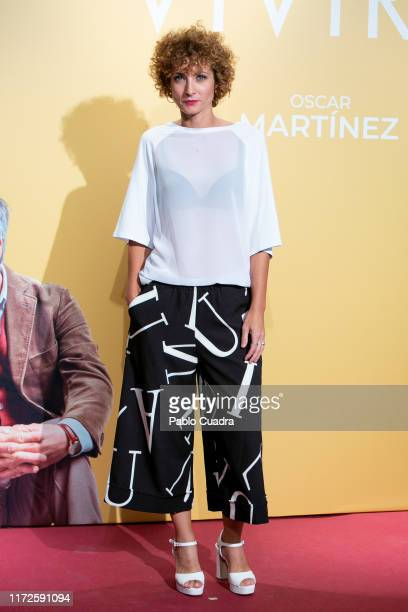 Actress Irene Anula attends 'Vivir Dos Veces' premiere at Capitol cinema on September 05 2019 in Madrid Spain