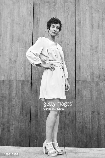 Actress Irene Anula poses for a portrait during the 22th Malaga Film Festival on March 16 2019 in Malaga Spain
