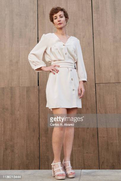 Actress Irene Anula poses for a portrait during the 22th Malaga Film Festival on March 16, 2019 in Malaga, Spain.