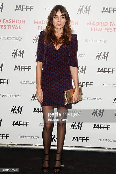 Actress Irene Arcos attends Madrid Fashion Festival photocall at Centrocentro on November 6 2014 in Madrid Spain