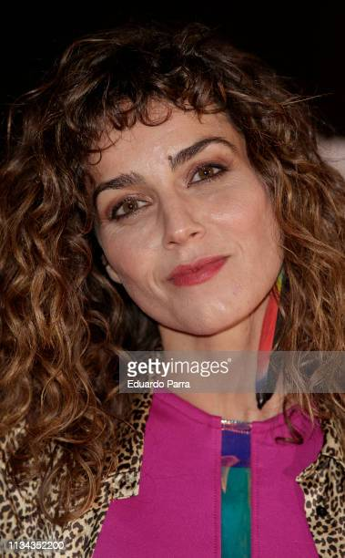 Actress Irene Arcos attends Najwa Nimri And Mala Rodriguez Concert at Barceo Theatre on March 07 2019 in Madrid Spain