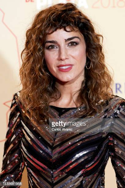 Actress Irene Arcos attends the Fotogramas Awards 2019 at Florida Park Club on March 04 2019 in Madrid Spain