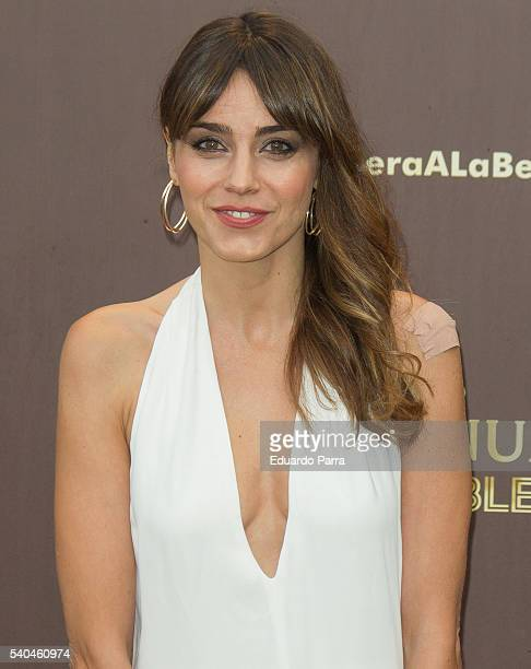 Actress Irene Arcos attends the 'Magnum summer' photocall at Me hotel on June 15 2016 in Madrid Spain