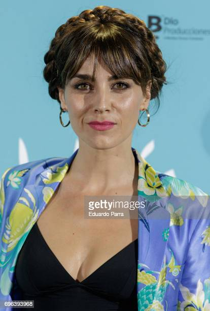 Actress Irene Arcos attends the 'Senor, dame paciencia' premiere at Fortuny Palace on June 15, 2017 in Madrid, Spain.