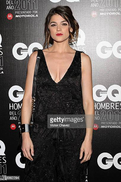 Actress Irene Azuela attends the 2011 GQ Mexico Men of the Year at the Salon Arcos Bosques on November 17, 2011 in Mexico City, Mexico.