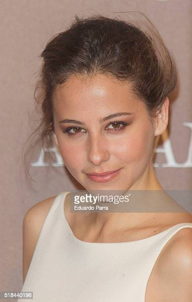 Actress Irene Escolar attends 'Altamira' premiere at Callao cinema on March 31 2016 in Madrid Spain