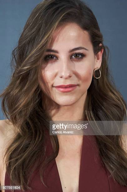 Actress Irene Escolar attends 'Bajo La Piel Del Lobo' photocall at the Torre Barcelo Hotel on March 5 2018 in Madrid Spain