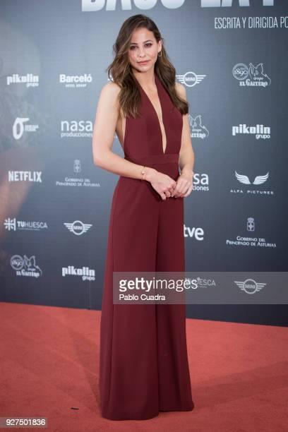 Actress Irene Escolar attends 'Bajo La Piel del Lobo' photocall on March 5 2018 in Madrid Spain