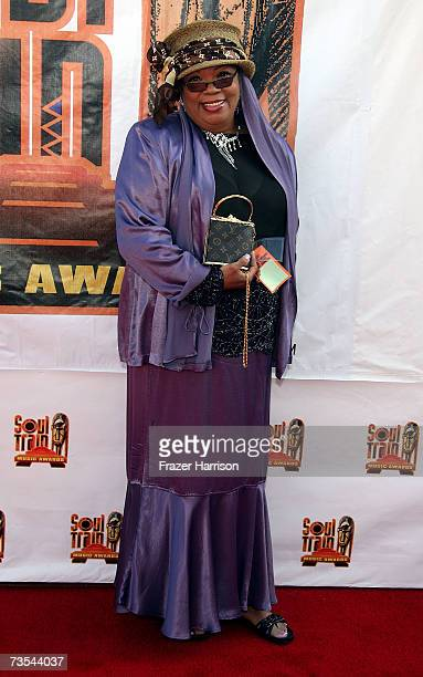 Actress Irene Mama Stokes arrives at the 21st Annual Soul Train Music Awards held at the Pasadena Civic Auditorium on March 10 2007 in Pasadena...