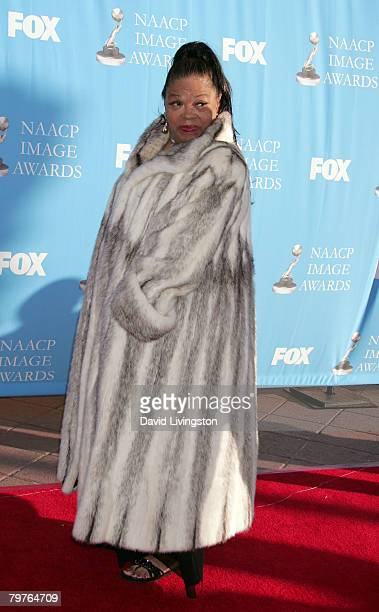 Actress Irene Mama Stokes arrives at the 39th NAACP Image Awards held at the Shrine Auditorium on February 14 2008 in Los Angeles California