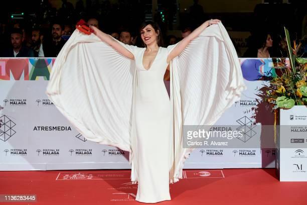 Actress Irene Montala attends 'Esto no es Berlin' premiere during the 22th Malaga Film Festival on March 16 2019 in Malaga Spain