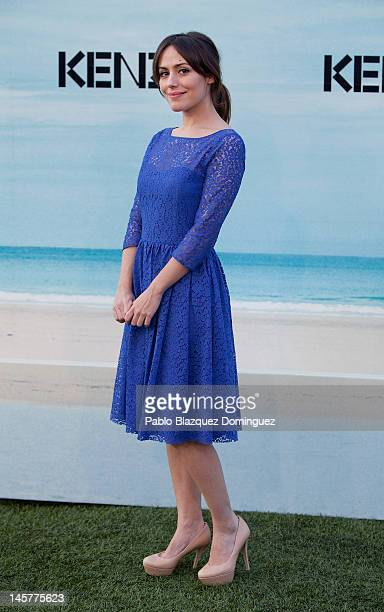 Actress Irene Montala attends Kenzo Summer Party at Green Canal Golf on June 5 2012 in Madrid Spain